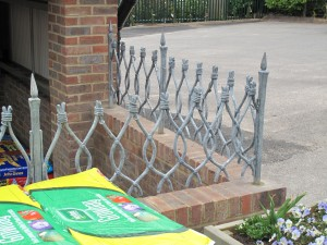 Thirsty Bear tulip railings have been wowing customers every since they were installed