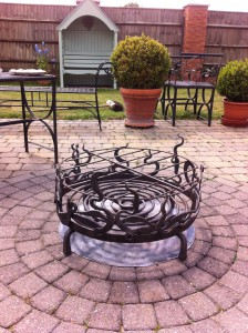 Mrs Buckley's fire basket comes home