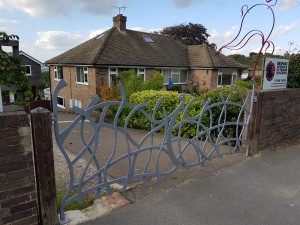 contemporary blacksmith Gates